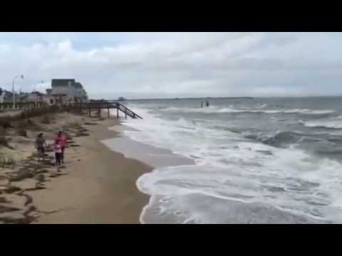 High Tide At Ocean View Youtube