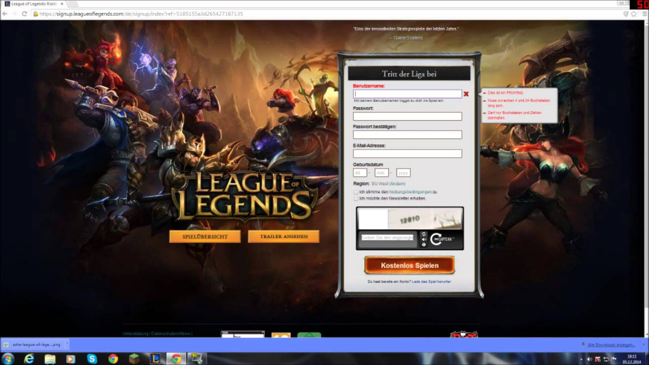 league of legends kostenlos