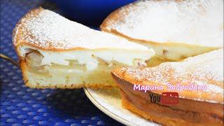 Пирог с ТВОРОГОМ и Яблоками на сметане ✧ Тает во рту!