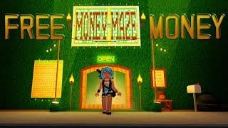 ROBLOX - Bloxburg free money in Money Maze!