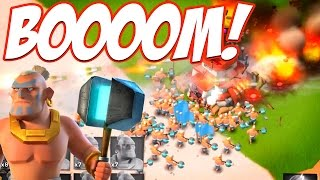 Boom Beach WARRIORS ARE BACK! BOOOM!