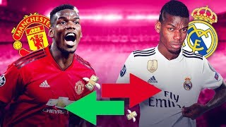 6 players Real Madrid could sacrifice to get Pogba - Oh My Goal