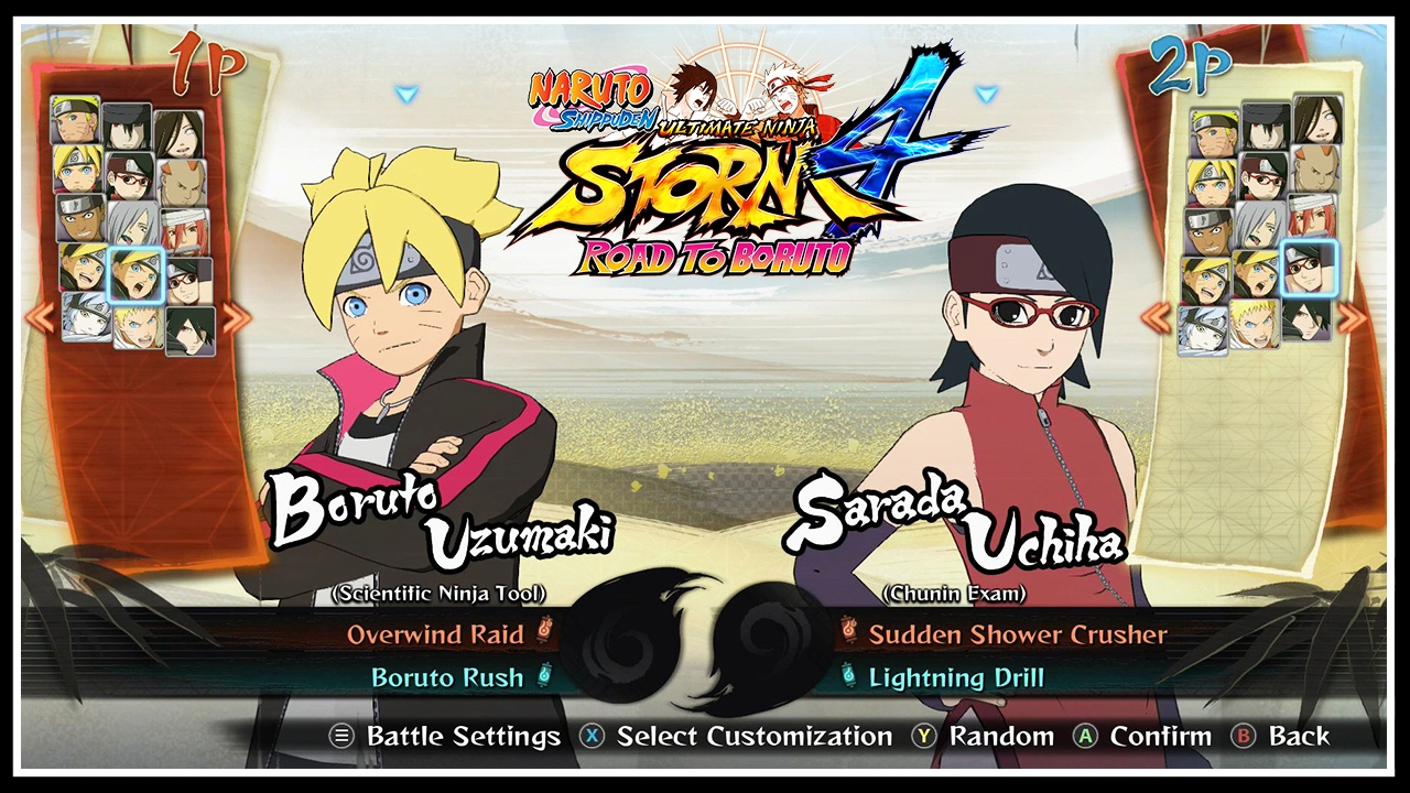 ALL CHARACTERS & COSTUMES [ROAD TO BORUTO & ALL DLC INCLUDED] | Naruto  Storm 4 ROAD TO BORUTO