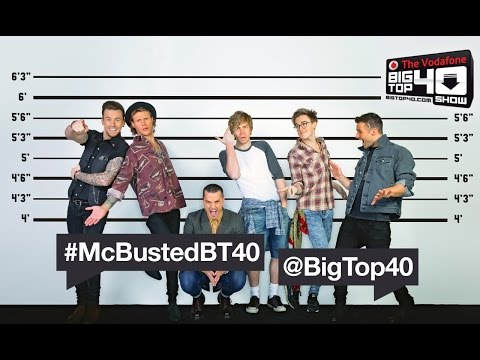 McBusted Big Top 40 Web Chat