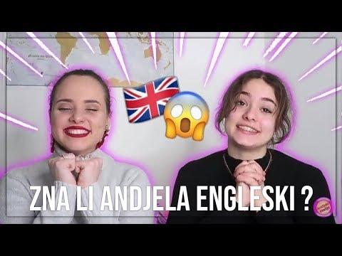 DA LI TO ONA PRICA ENGLESKI A NE ZNA ENGLESKI?