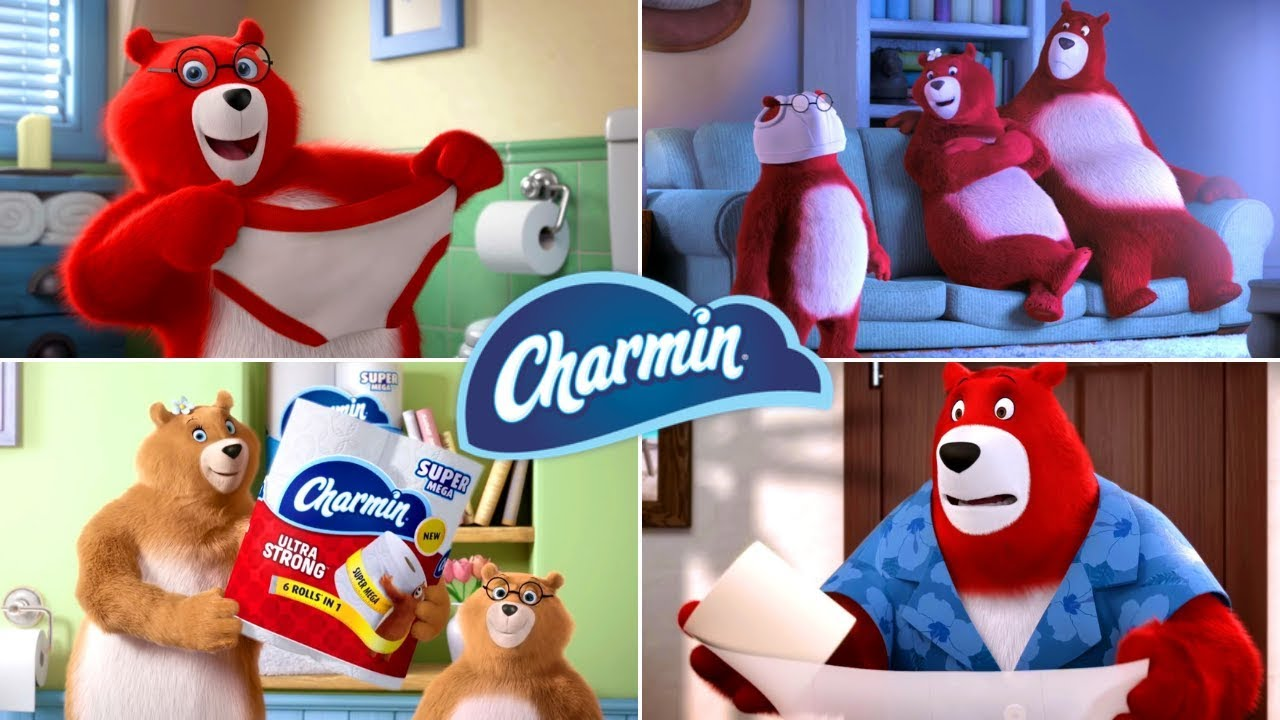 Download Charmin Bears Enjoy The Go Funny Toilet Paper Commercials