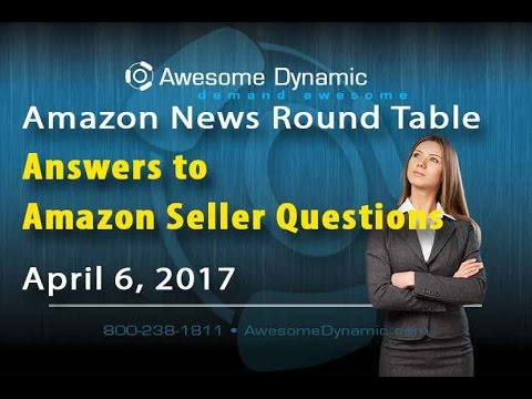 Answers to Amazon Seller Questions