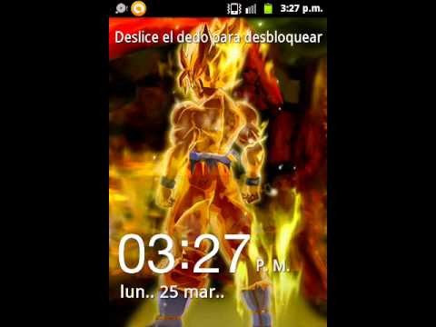 dragon ball live wallpaper for android