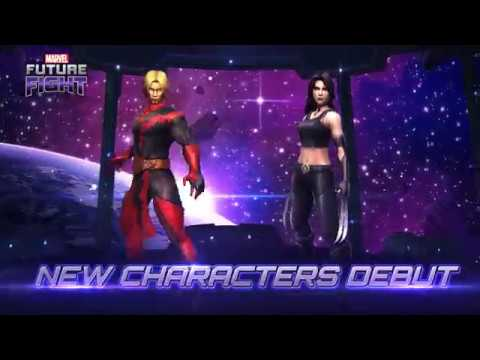 [MARVEL Future Fight] New Characters & Uniforms are released!