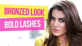 Bronzed Look and Bold Lashes Thumbnail