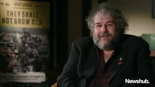 Peter Jackson explains turning WWI footage into a 4K 3D film | Newshub