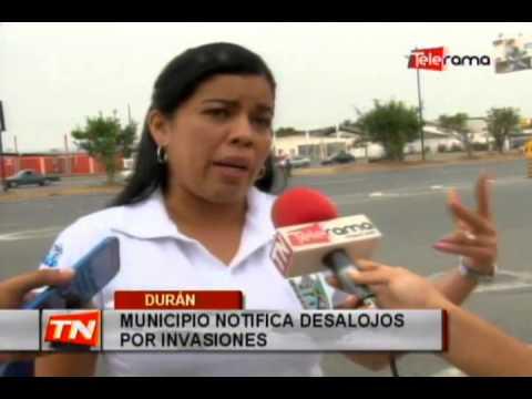 Municipio notifica desalojos por invasiones