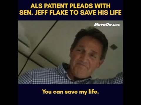 ALS Victim Who Went Viral With Sen. Flake Plea Just Got Arrested In Heartwrenching Fashion