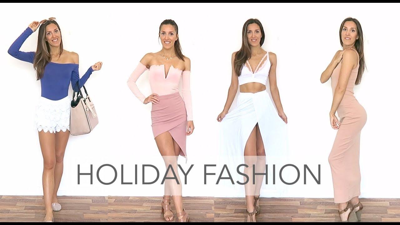 6dea34a055a MISSGUIDED HAUL & TRY-ON - SUMMER FASHION JULY 2018 - Bardot Body & Midi  Dress | natalie danza