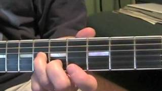 Any Time At All Beatles guitar lesson solo