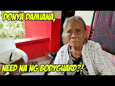 DONYA DAMIANA, KAILANGAN NA NG BODYGUARD? | BAKIT KAYA -  (2020)