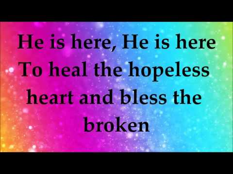 Martha Munizzi - God is Here - Lyrics