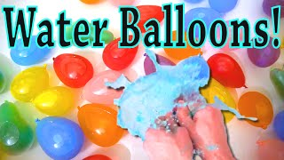 Pop Water Balloons Fun for Kids video!