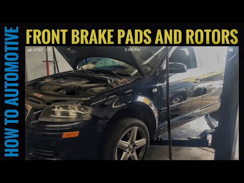 How to Replace Front Brake Pads and Rotors on a 2006 Audi A3