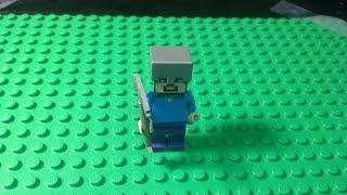 Minecraft Lego Don't Mine At Night!