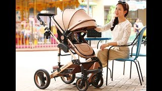 Купить сейчас Wisesonle детская коляска2/3 в 1 коляске от AliExpress