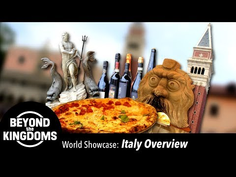 Epcot Italy Pavilion Overview