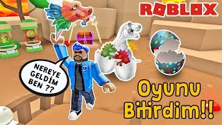 I've DONE THE GAME! DINOSAUR WORLD AND LEGENDARY EGGS | Balloon Simulator | Roblox English