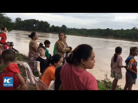 LIVE: At least 19 people dead after dam collapse in Laos