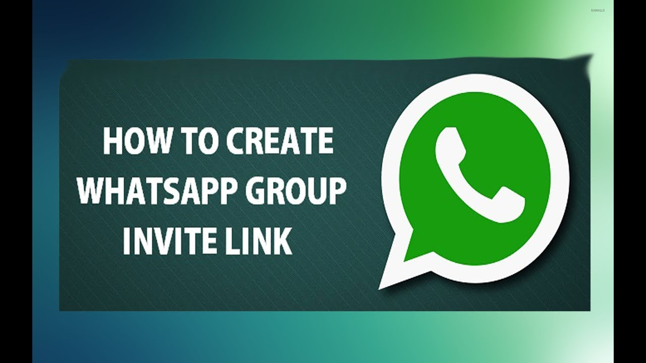 How to create whatsapp group invitation link 2017