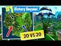 *new Insane* 20 Vs 20 Game Mode! Gameplay In Fortnite: Battle Royale