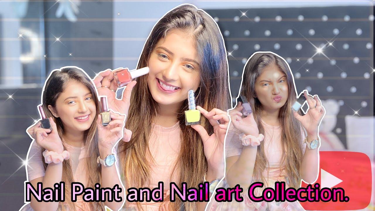 Nail paint and Nail art Collection | Arishfa Khan
