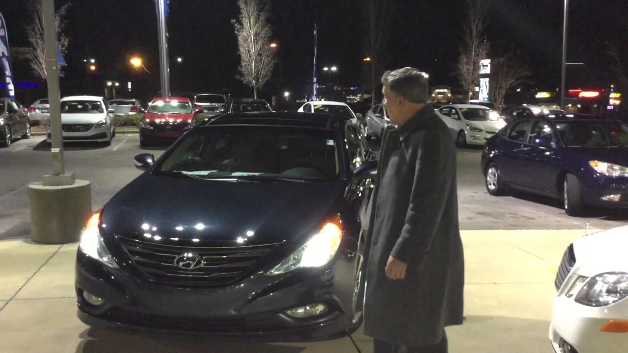 Marie's 2014 Hyundai Sonata Limited @ Tameron Hyundai in Hoover, Al