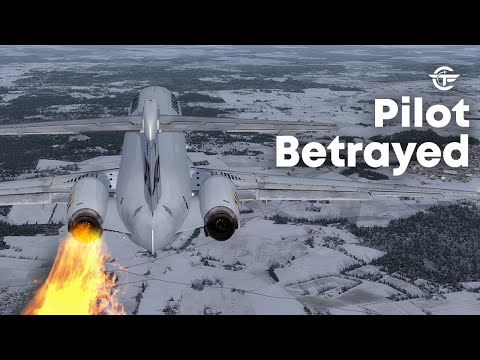 Pilot Betrayed | Terrifying Moments as Both Engines Failed After Takeoff | SAS Flight 751 | 4K