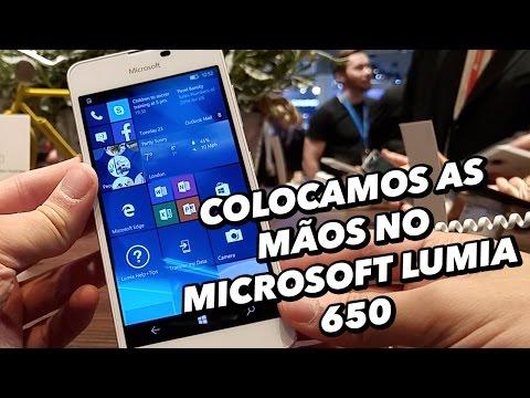 Colocamos As Mãos No Smartphone Microsoft Lumia 650 [Hands On] - MWC 2016