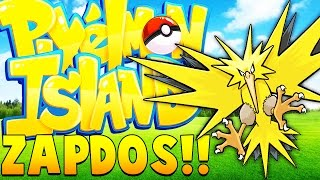 spawn zapdos legendary minecraft pixelmon island pokemon mod