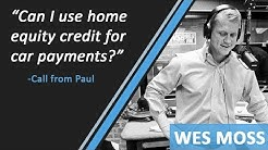 Can I Use My Home Equity Credit For Car Payments?