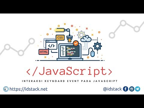 Tutorial DOM JavaScript - 14 Interaksi Keyboard dan Input Events dengan Java thumbnail