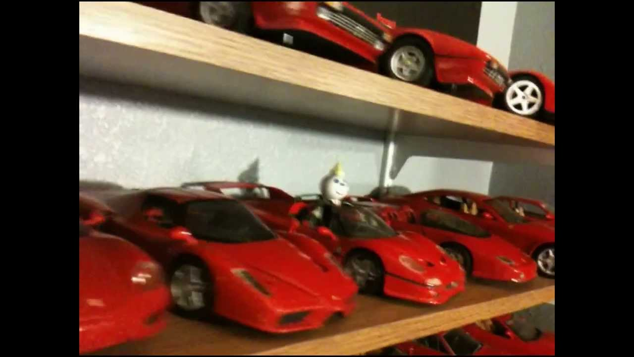 Ferrari Model Car Collection   YouTube