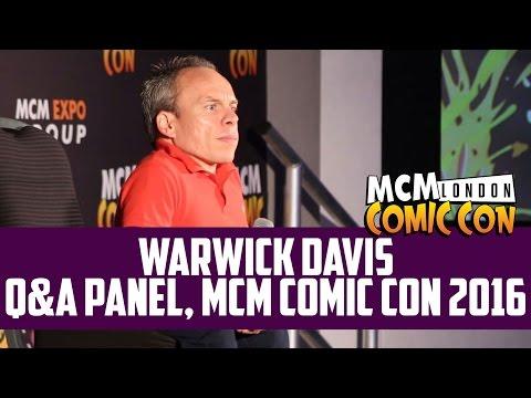 Warwick Davis Q&A at MCM Comic Con 2016 (HD)