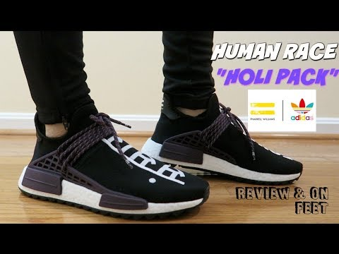 quality design 50b14 f30d6 (ARE THEY WORTH IT ??) HUMAN RACE (HOLI PACK) NMD