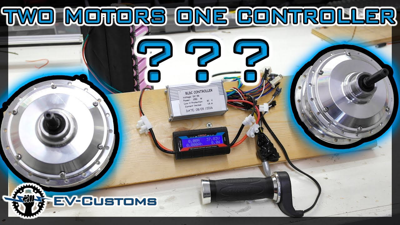 Can One Speed Controller Run Two Hub Motors
