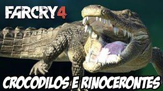 Far Cry 4 - CROCODILOS E RINOCERONTES LOUCOS