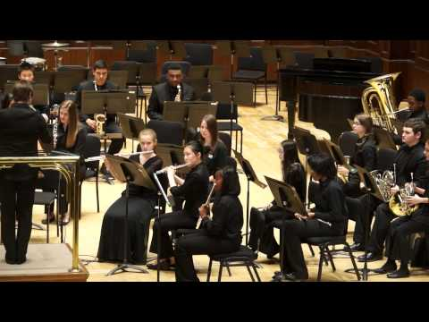 Flurry for Winds and Percussion, John Kinyon, Detroit Symphony Civic Symphonic Band, 5/4/14