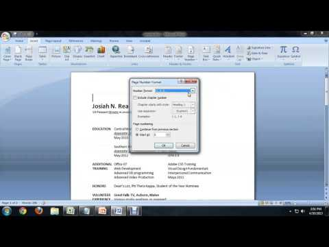 How to Remove the Page Number From the First Page of a Document in Microsoft Word : Tech Niche