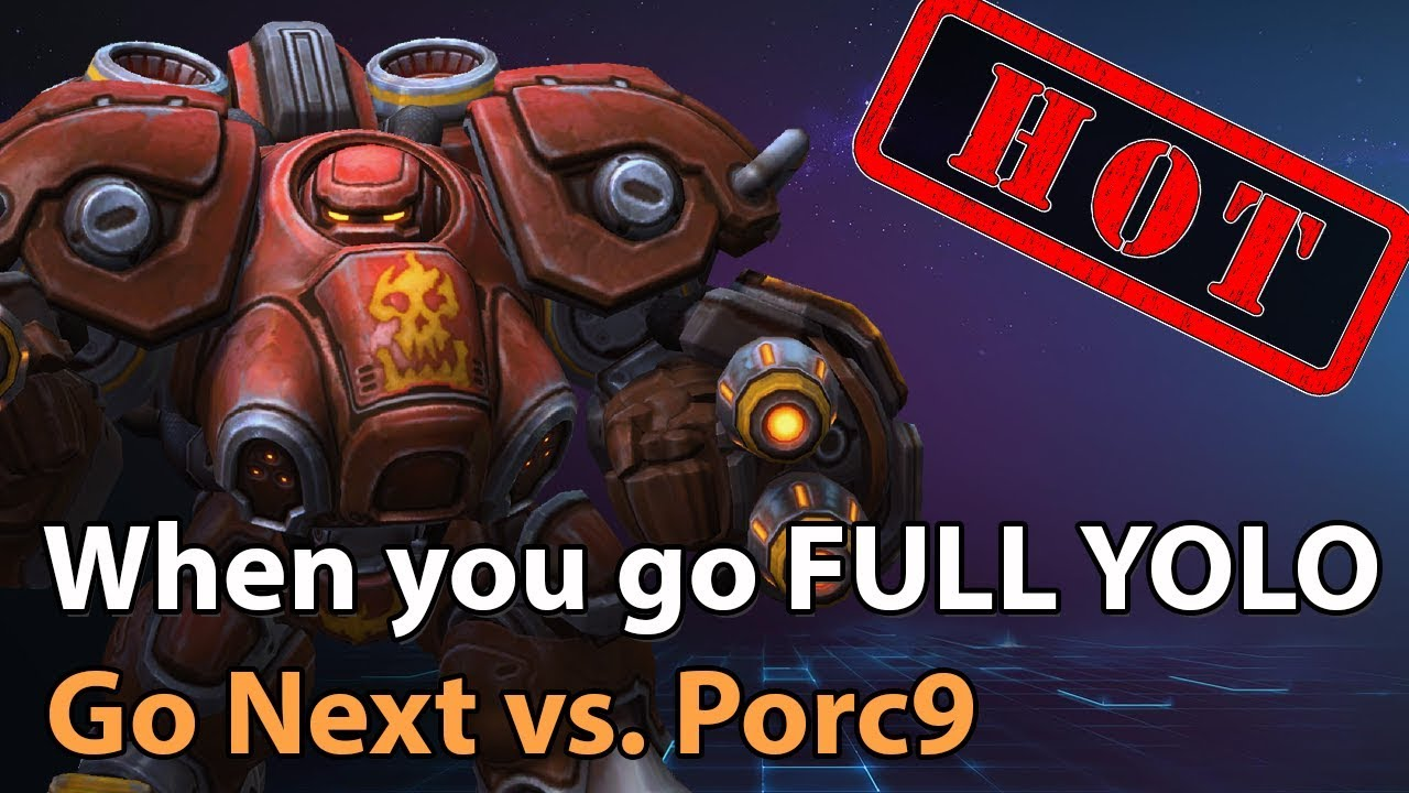 ► Heroes of the Storm: Go Next vs. Porc9 - Going FULL YOLO - HH Playoffs