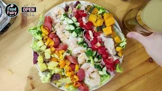 내맘대로 레인보우 샐러드 만들기_Rainbow cobb salad