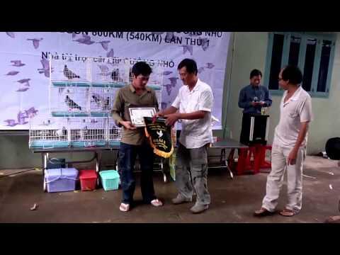 Trao giai Giai dua Bo cau cup Cuongnho 800Km Quang Ngai - S