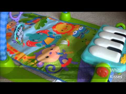 Rainforest Piano Gym von Fisher Price Produkttest Babyspielzeug (P)