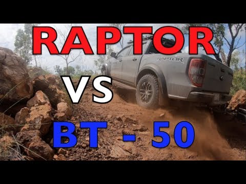 RANGER RAPTOR vs BT50