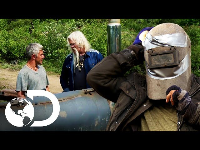 Las habilidades de Matt en la montaña | Alaska: Hombres primitivos | Discovery Latinoamérica